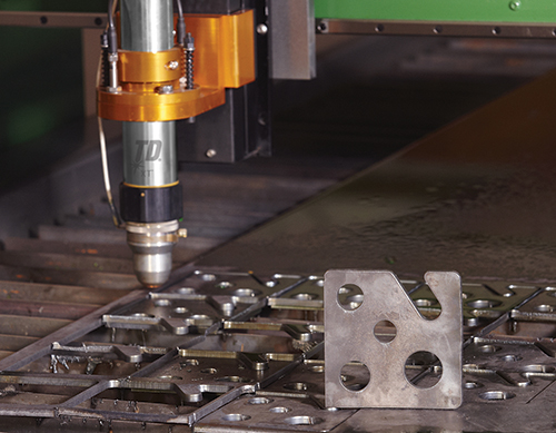 Plasma systems make sense when fabricators need to cut the same shape repeatedly.