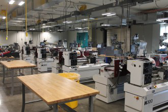 Advanced Manufacturing Partnership lab at Western Michigan University Grand Rapids