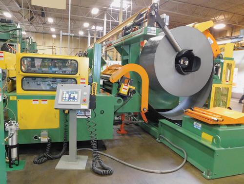 Dallas Industries servo driven feed line