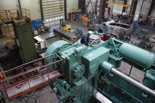 Enprotech repairs, rebuilds and modernizes stamping presses