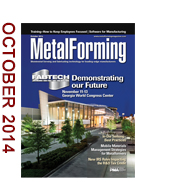 October 2014 MetalForming