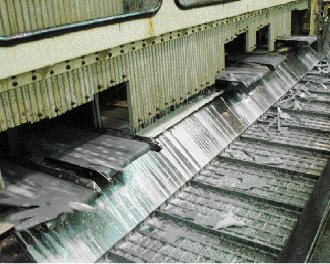 Schaller Corp. switched to low-profile conveyors such as these.