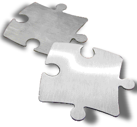 Pressroom puzzle pieces fit together