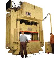 Hydraulic deep-draw presses