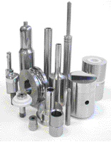 Carbide, ceramic and steel tooling