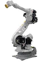 Press-tending robot