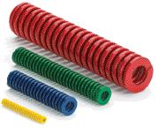 Color-coded die springs