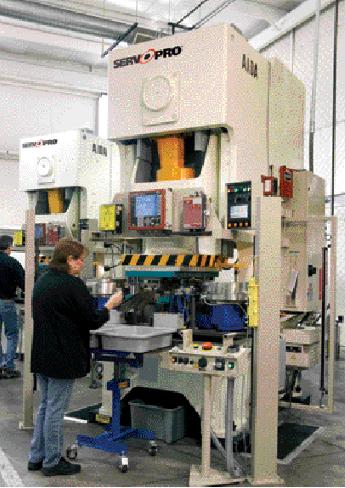 Metalstamp installed an Aida model NC1-1500