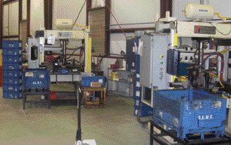 This resistance-welding cells comprise part of the value-added lineup