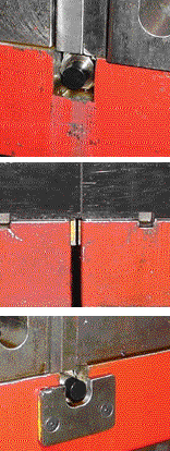 This die in use shows the installation of balluff sensors using wireless technology.
