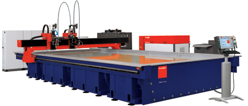 Waterjet-cutting system-Ideal for steel service centers