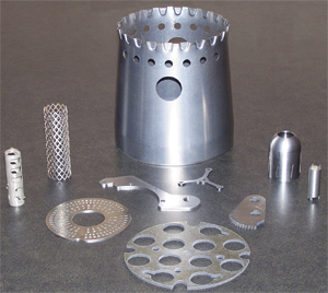 Parts for aerospace, electronic, medical and other customers