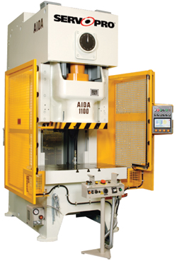 Servo-bsed gap-frame press