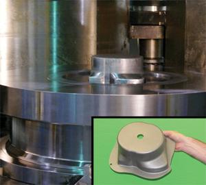 Sheet-hydroforming press