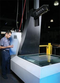 Laser inspection on this Virtek Laser QC