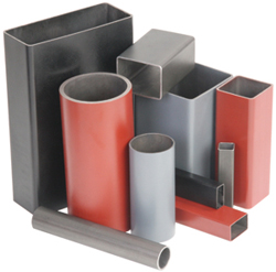 Powder-Coated Tubing allows simplified welding