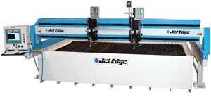 Mid-Rail-Gantry Waterjet System
