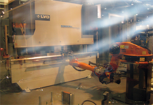 LVD Robocell automated bending cell