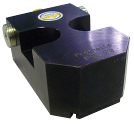 QDC Clamp for dies with a flat edge