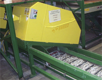 Seed scrap choopers with a conveyor chop and transport waste edge trim