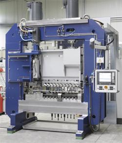 New Servo-mehanical press