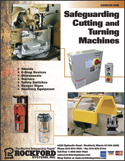 Safeguarding cutting and turning machines