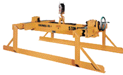 Sheet lifter handles bundles in low-headroom applications