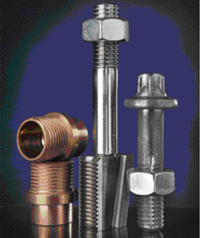 Segmented tooling creates formed threads in fasteners
