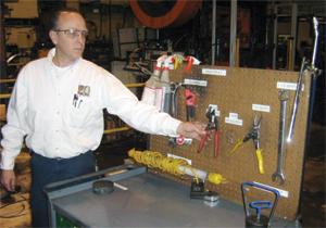 Lean Manufacturing Die carts