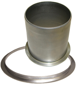Coatings-hub seal parts