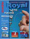Royal Diversified Products die and mold components catalog