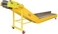custom-engineered stamping scrap-conveying system