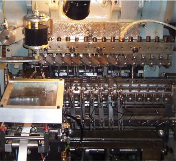 Waterbury Farrel and US Baird transfer presses