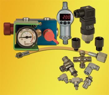Nitrogen-gas spring accessories