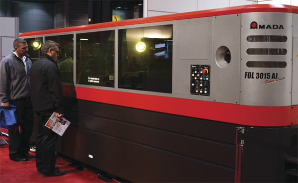 Articles - Fabtech Leads Metalformers to the Cutting Edge
