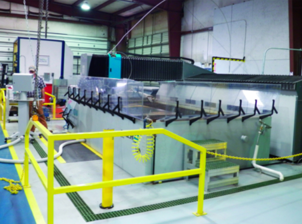 Articles - Bringing Waterjet Cutting Inhouse--a Lucrative