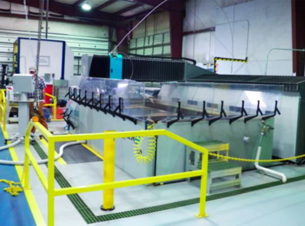 Kronos FlowJet waterjet-cutting system