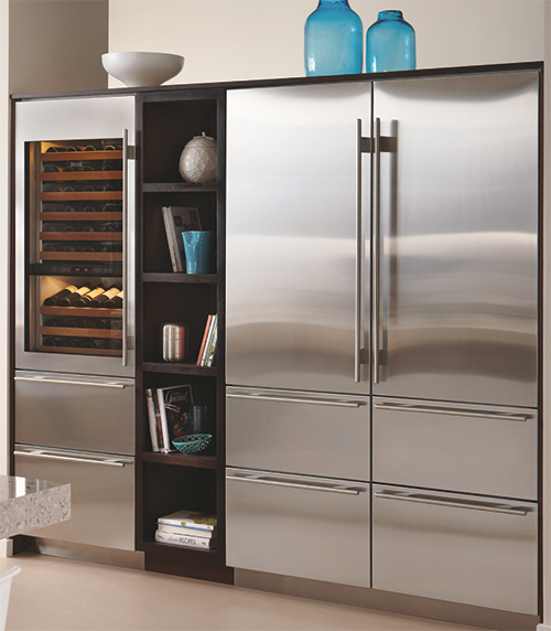 Modern Kitchen Refrigerators: Articles - Sub-Zero Warms Up To Flexible Fabrication