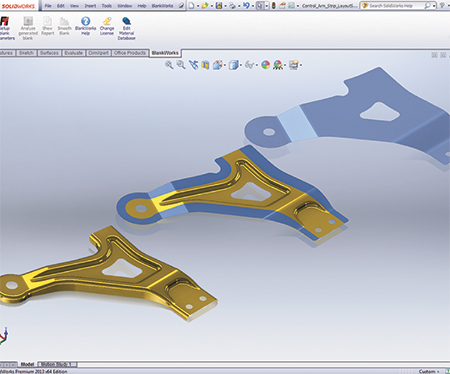 how to show flat pattern in solidworks