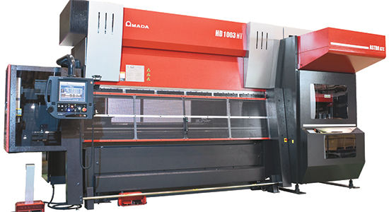 Tech Update - Press Brake Boasts Automatic Tool Changer and Bend