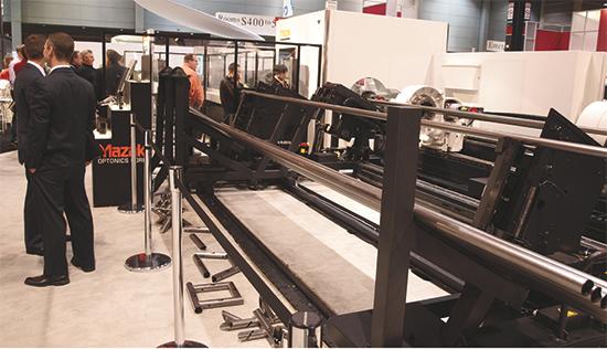 Mazak Tube Gear 2D laser-cutting machine