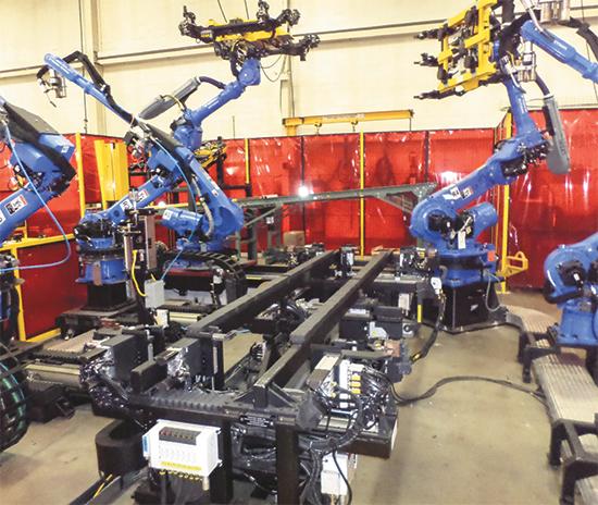 Proper fixturing in robotic welding