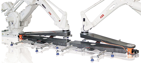 Twin Robot Xbar parts-transfer system