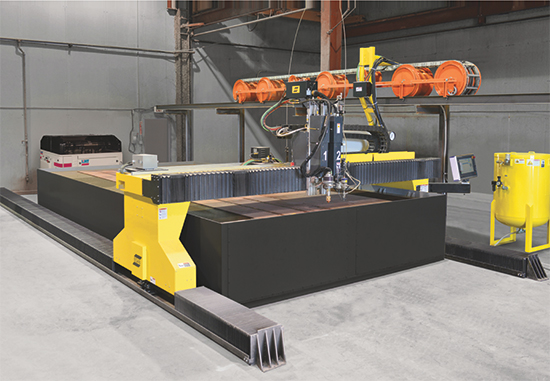 Hydrocut LX shapecutting machine