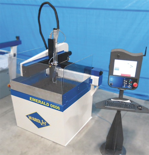 Emerald 0606 waterjet cutting machine