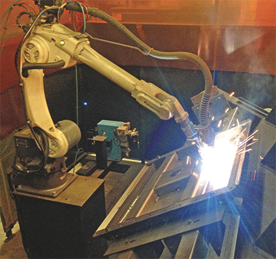 robotic arc-welding cells have become a primary catalyst for growth