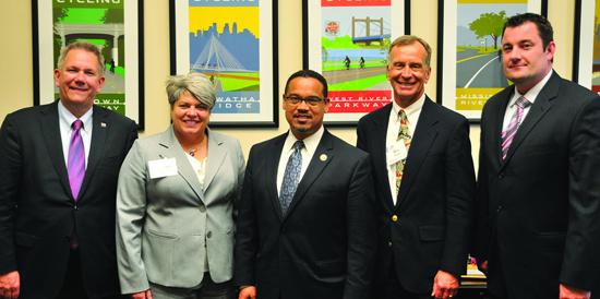 Minnesota members met with Congressman Keith Ellison.