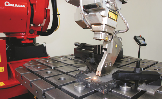 Amada's Fiber-Laser Welder