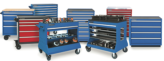Versatility Professional Tool Storage tool cabinets and carts