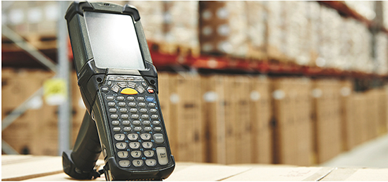 using barcode technology, a user can enter data faster and more accurately than using manual methods.